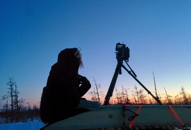 Evening shooting.